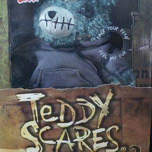 "Teddy Scares Series 2 Mundy Drudge 12"" Teddy Bear"
